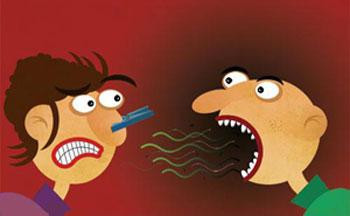 پزشکی: برطرف کردن بوی بد دهان