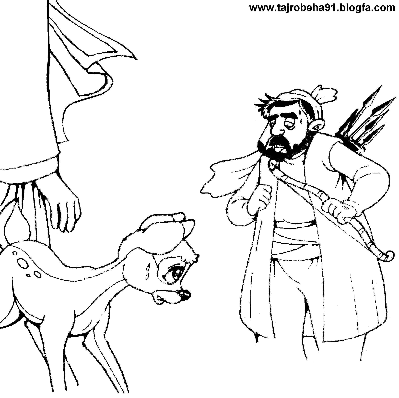 نقاشی پلنگ اهو عکس آهو برای نقاشی – سایت عکس