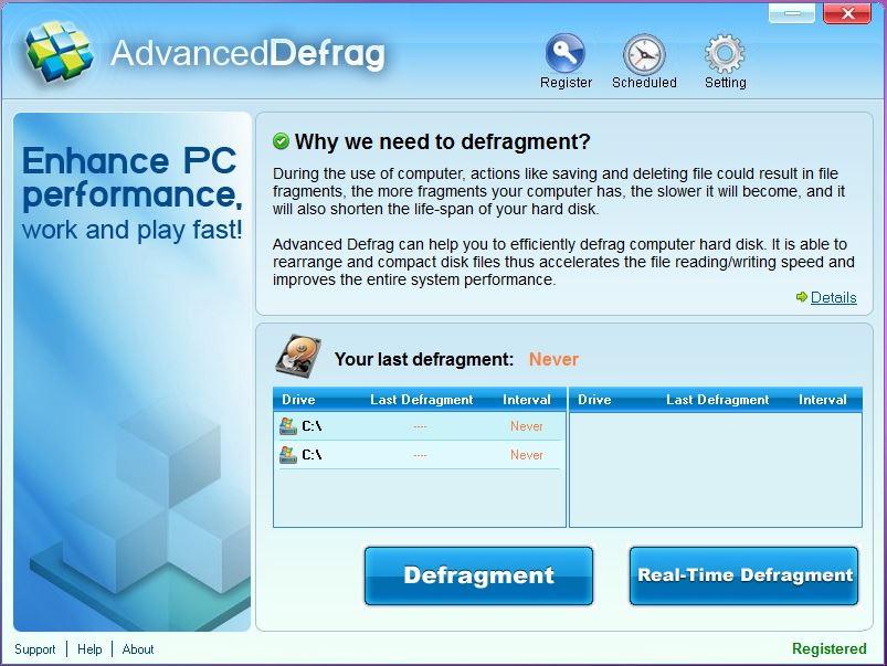 Advanced Defrag