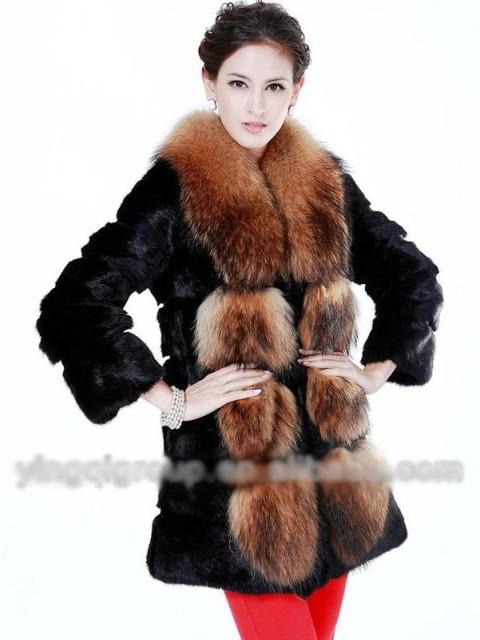 مدل پالتو خز دار زنانه دخترانه