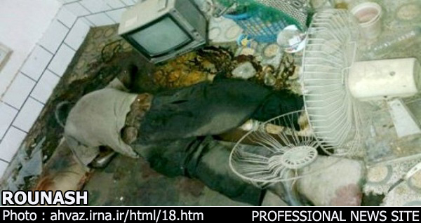 جسد مردی پس از دو ماه در محل سکونتش در دزفول کشف شد + عکس