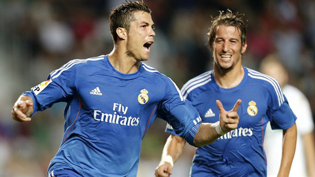 پيروزي رئال مادريد مقابل الچه با گلهاي رونالدو