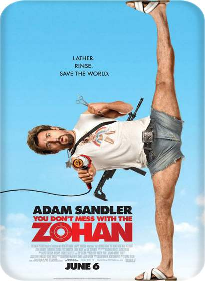 دانلود فیلم You Don't Mess with the Zohan 2008