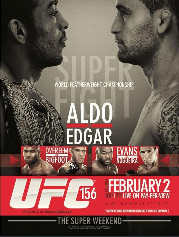 دانلود یو اف سی 156 | UFC 156: Aldo vs. Edgar
