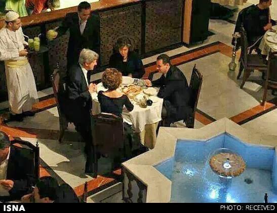 بشار اسد و جان کری
