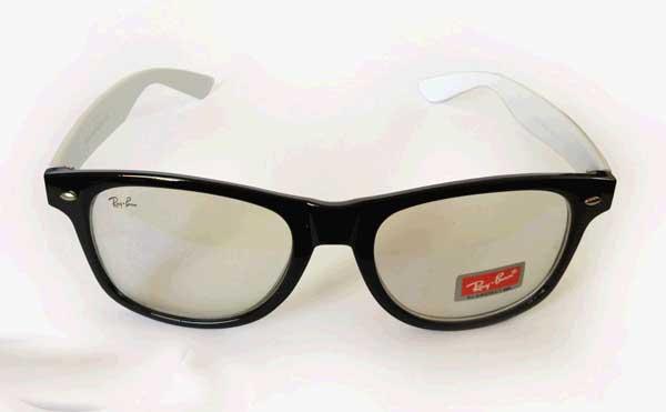 عینک شیشه شفاف ریبن