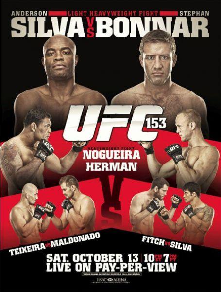 دانلود یو اف سی 153 | UFC 153: Silva vs. Bonnar