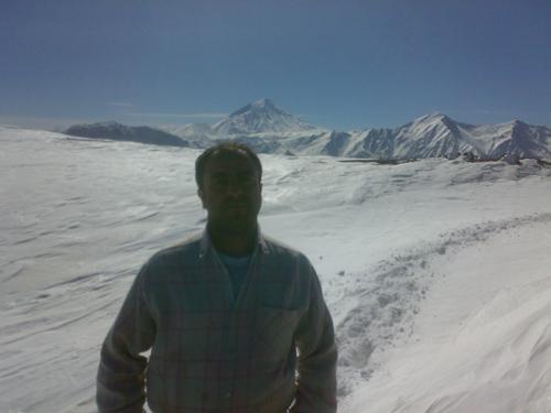 قله گنج کوه زمستان 90
