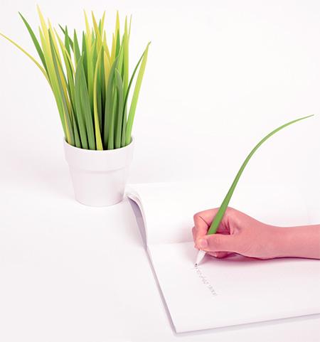مطالب داغ: خودکار هایی به شکل برگ چمن