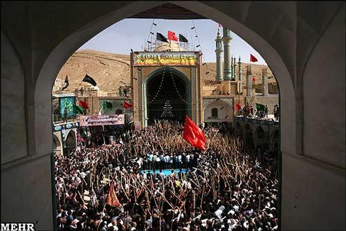 روایت مصور: مراسم قالیشویان مشهد اردهال کاشان جمعه ۱۲ مهر ۹۲