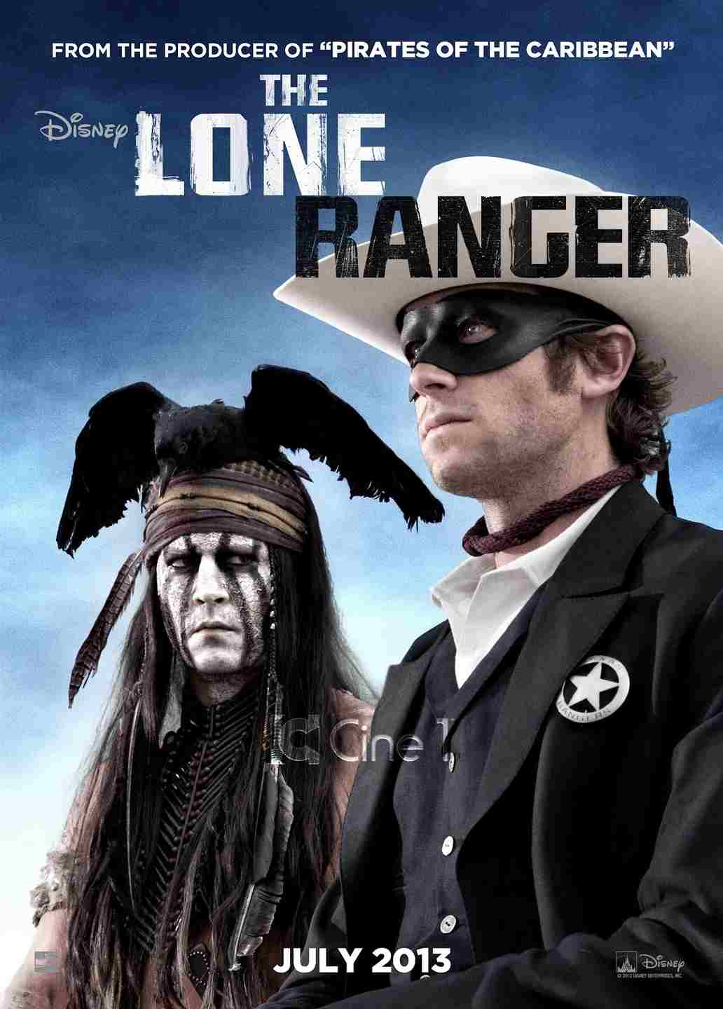 فیلم the lone ranger 2013