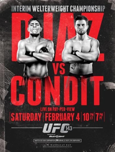 دانلود یو اف سی 143 | UFC 143 : Diaz vs. Condit