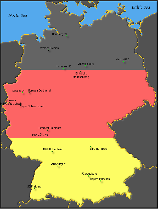 جدول - معرفی - نتایج | بوندس لیگا (آلمان) | 2014-2013