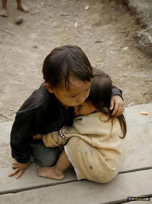 عکس عشق کودکان
