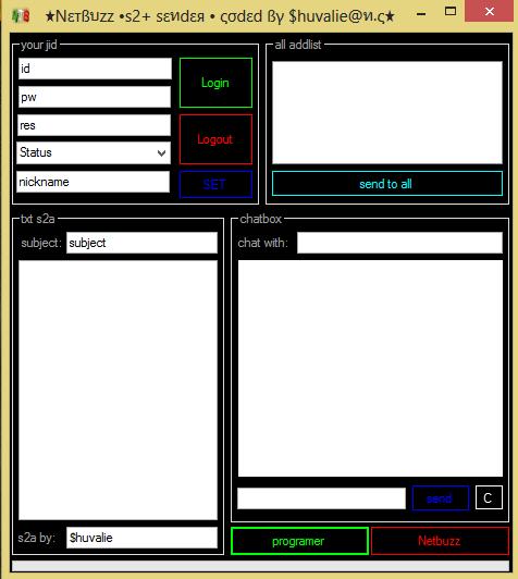 Netbuzz s2+ sender coded by $huvalie@n.c & $ekans@n.c Netbuzz_s2_