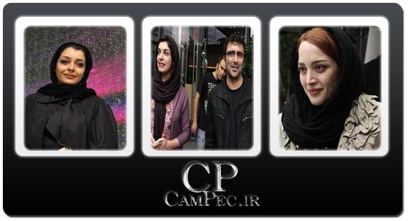 عکس های بازیگران در اکران فیلم سینمایی«آزادراه»