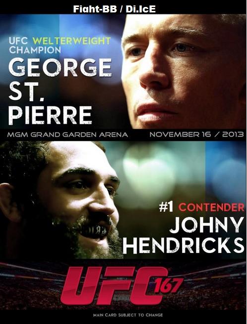 دانلود یو اف سی 167 | UFC 167 : St-Pierre vs. Hendricks