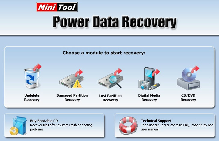 Power Data Recovery 6
