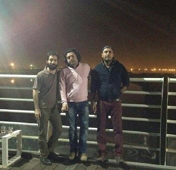 محسن چاوشی و حسین صفا و محسن شیرالی