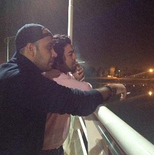 محسن چاوشی و حسین صفا