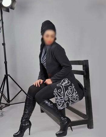 مدل پالتو خاكستری زنانه