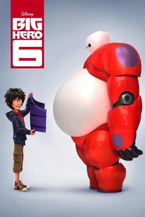 دانلود دوبله فارسی انیمیشن Big Hero 6 2014