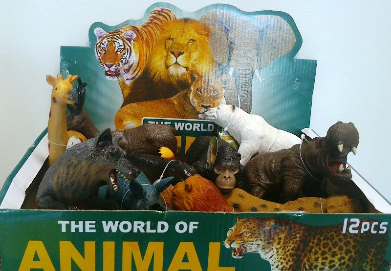 اسباب بازی حیوانات وحشی
