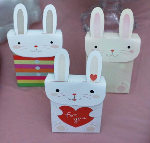 جعبه های گیفت بشکل خرگوش