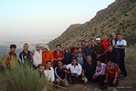 کوهپیمایی دراگ شیراز 21 اردی بهشت 94