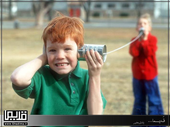 بیسیم بچه های دهه شصت با قوطی کنسرو