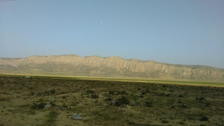 ضلع غربی کوه بیل /شرق بخش ارژن/