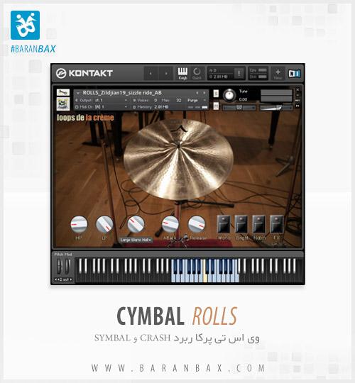 دانلود وی اس تی درامز Cymbal Rolls