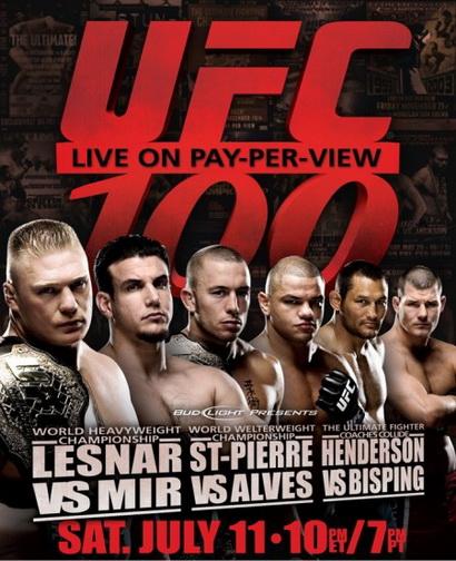 دانلود یو اف سی 100 |UFC 100: Lesnar vs. Mir