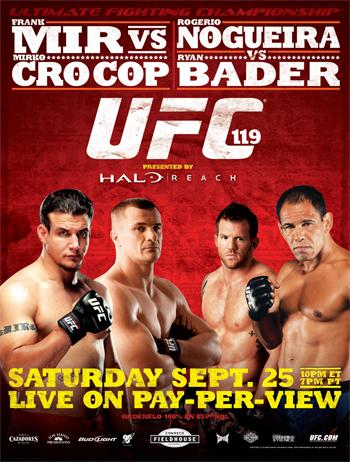 دانلود یو اف سی 119 | UFC 119: Mir vs. Cro Cop