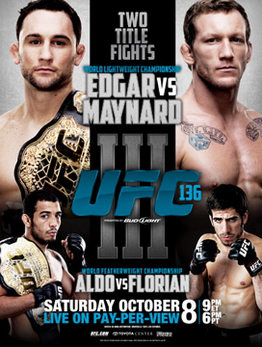 دانلود یو اف سی 136 | UFC 136: Edgar vs. Maynard III