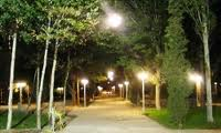 شروع عملیات اجرایی نصب روشنایی پارک