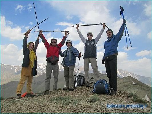 گروه نشاط زندگی - قله چشمه نار