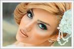 آرایش و شینیون عروس ایرانی