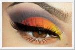 جدیدترین مدل های آرایش چشم  تابستان 94
