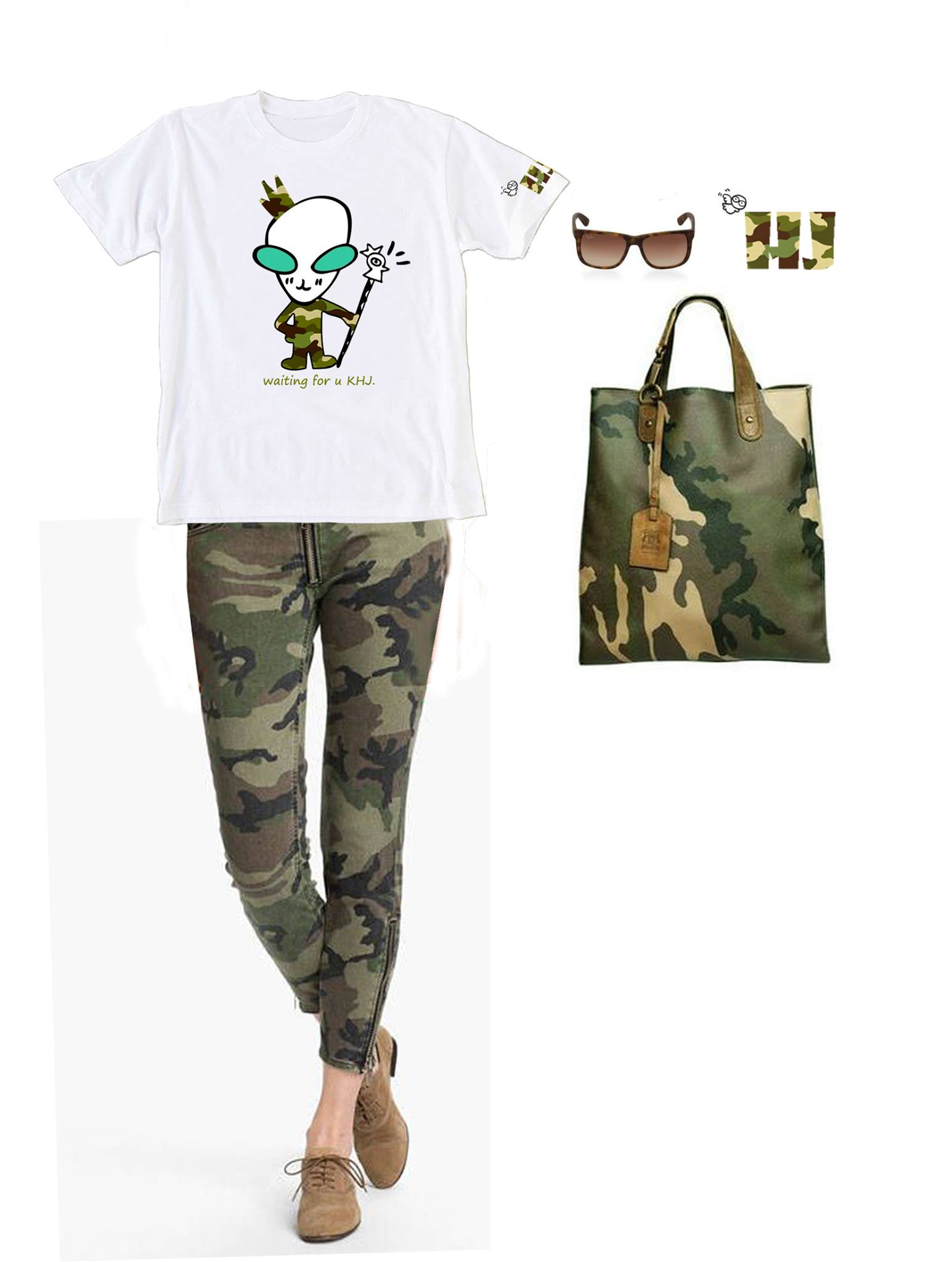 Chic Ways to Wear Camo This Summer