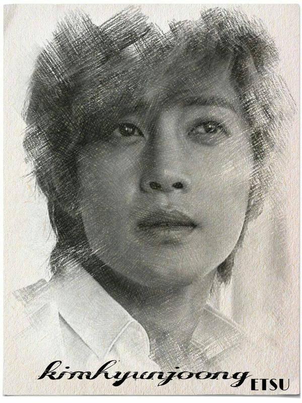 Kim Hyun Joong Sketches
