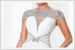 لباس مجلسی بلند سفید