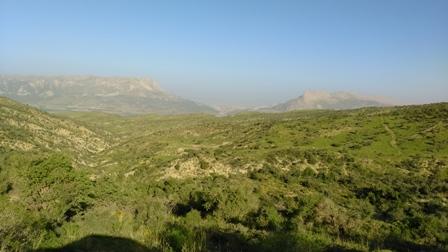 کوه بیل - درّه بزمک