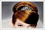 شینیون جدید موی عروس