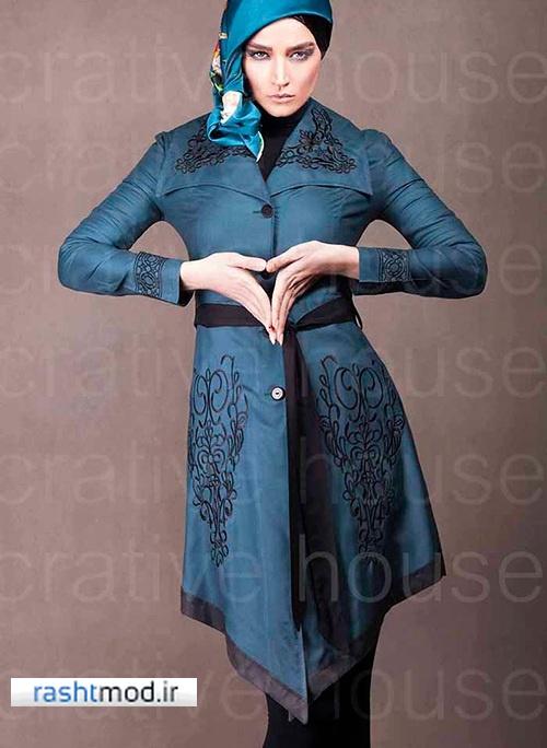 مدلهای مختلف مانتو های خوشکل زنانه دخترانه خرداد 94
