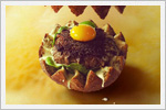 خلاقیت با همبرگر