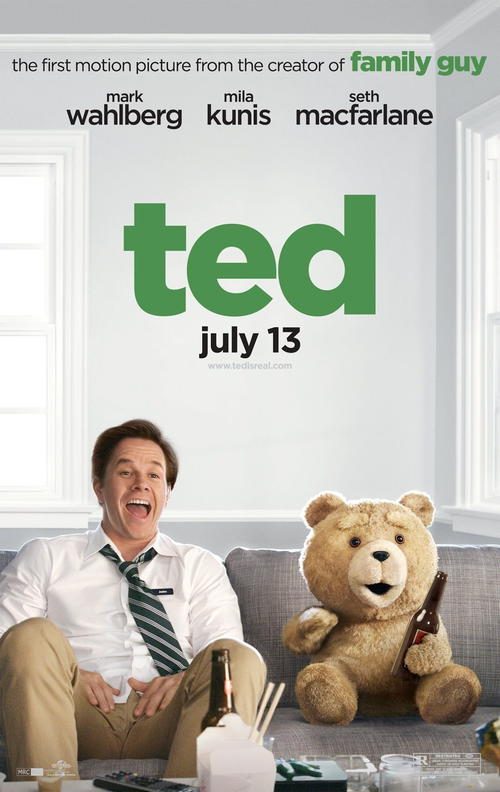 دانلود دوبله فارسی فیلم کمدی و زیبای Ted 2012