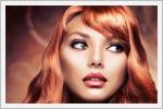 رنگ موی قرمز