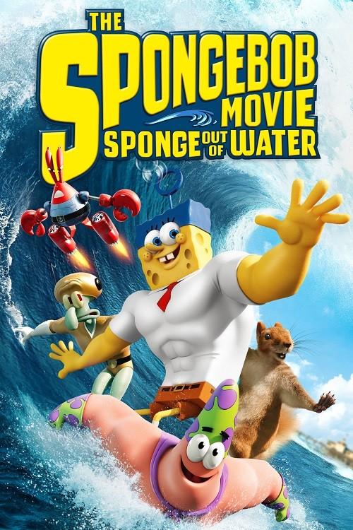 دانلود دوبله فارسی انیمیشن Sponge Out of Water 2015