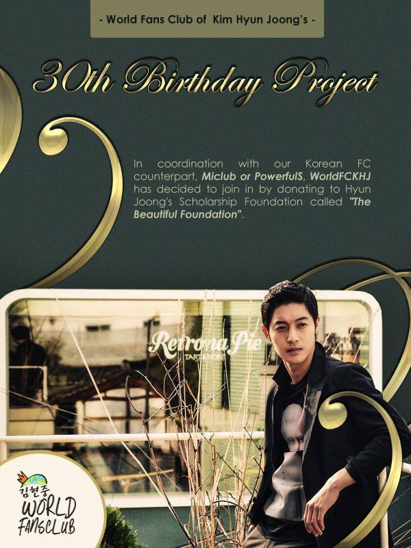 Fans Of Kim Hyun Joong Have Collected 1 Million Won For Korean Students 15.06.06